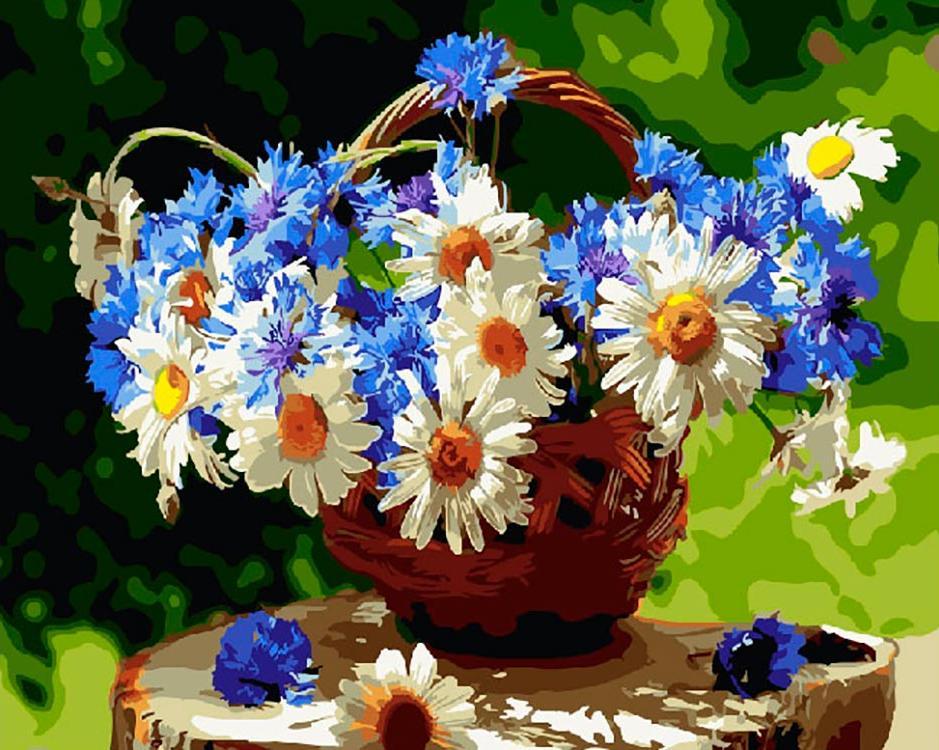проемов открытки с полевыми цветами в день рождения путь