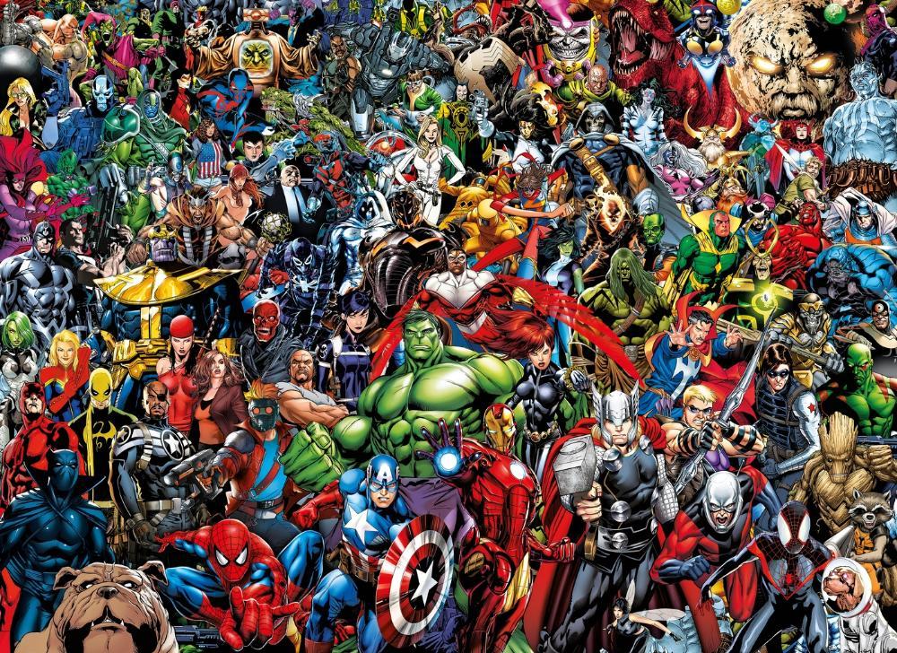марвел фото всех героев по одному получили самые высокие
