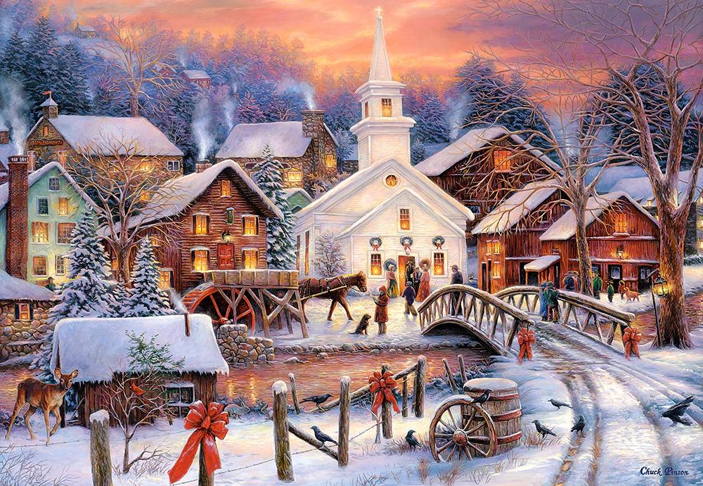 Зимний открытки