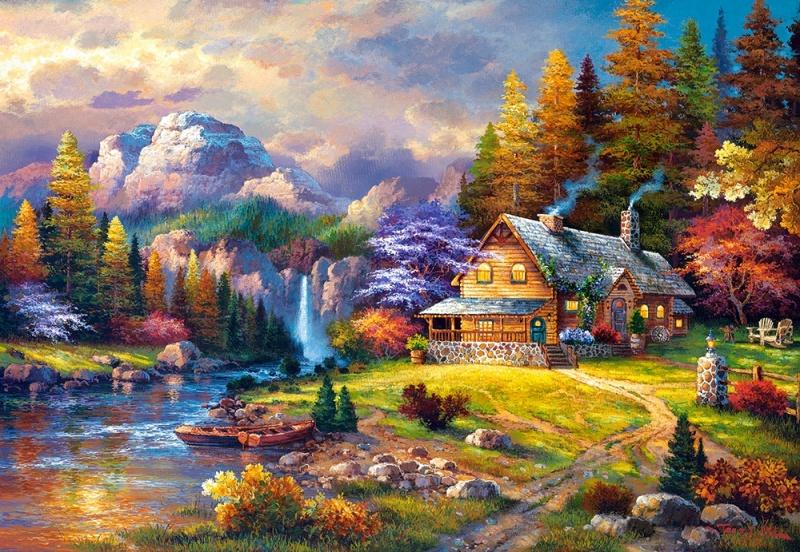 такие самые красивые картины маслом пейзажи необходима информация виде